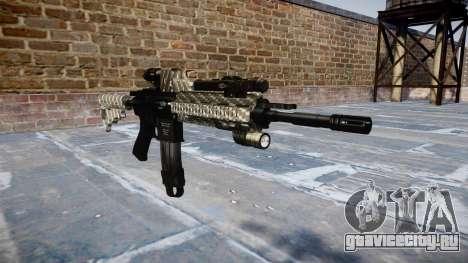 Автоматический карабин Colt M4A1 carbon fiber для GTA 4