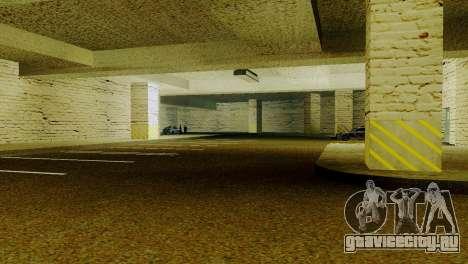 Новые текстуры парковки в LSPD для GTA San Andreas