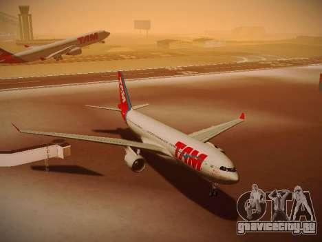 Airbus A330-200 TAM Airlines для GTA San Andreas вид сбоку
