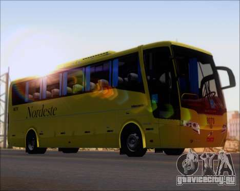 Busscar Elegance 360 Viacao Nordeste 8070 для GTA San Andreas вид сзади слева
