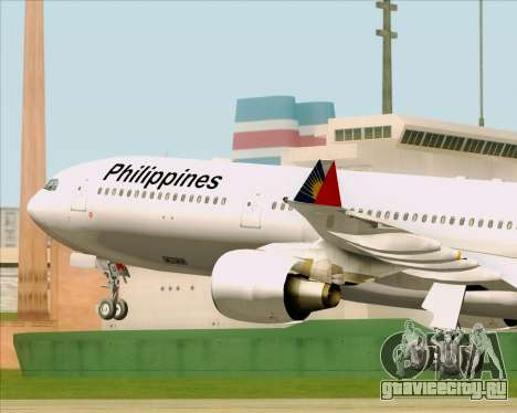 Airbus A330-300 Philippine Airlines для GTA San Andreas вид сбоку