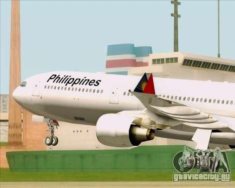Airbus A330-300 Philippine Airlines для GTA San Andreas вид сбоку
