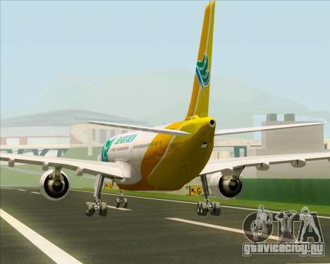 Airbus A330-300 Cebu Pacific Air для GTA San Andreas двигатель