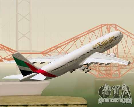 Airbus A330-300 Emirates для GTA San Andreas