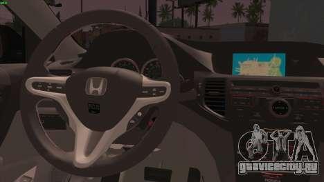 Honda Accord Mugen для GTA San Andreas вид сзади слева