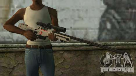 Sniper Rifle from PointBlank v2 для GTA San Andreas третий скриншот