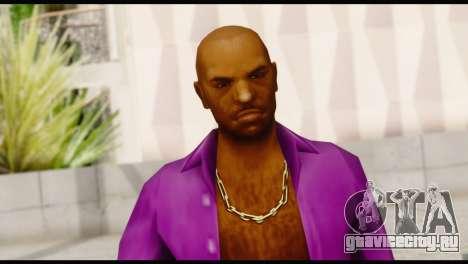 Purple Shirt Vic для GTA San Andreas третий скриншот