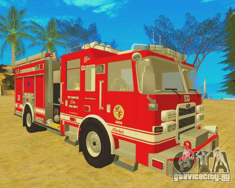 Pierce Arrow XT 2008 Los Santos Fire Department для GTA San Andreas