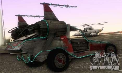 Space Docker from GTA V для GTA San Andreas вид слева