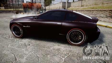 GTA V Schyster Fusilade v2 для GTA 4 вид слева