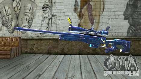 Graffiti Sniper Rifle v2 для GTA San Andreas