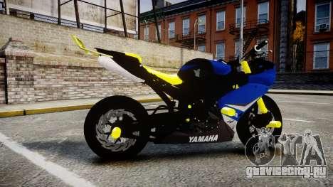 Yamaha R1 2007 Stunt для GTA 4 вид слева