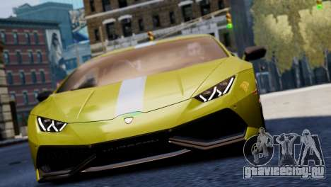 Lamborghini Huracan LP610-2 Valentino Balboni для GTA 4 вид сбоку