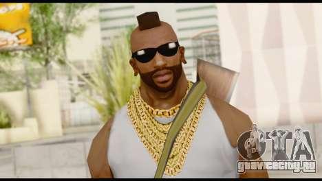 MR T Skin v8 для GTA San Andreas третий скриншот