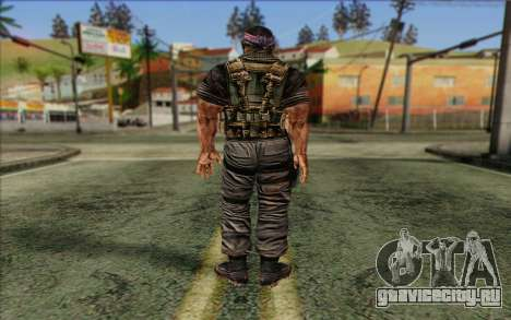 Солдат from Rogue Warrior 3 для GTA San Andreas второй скриншот
