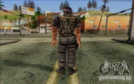 Солдат from Rogue Warrior 3 для GTA San Andreas