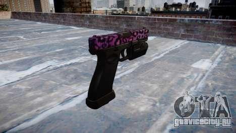 Пистолет Glock 20 party rock для GTA 4 второй скриншот