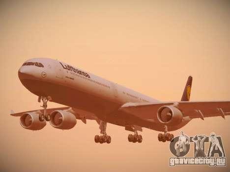 Airbus A340-600 Lufthansa для GTA San Andreas