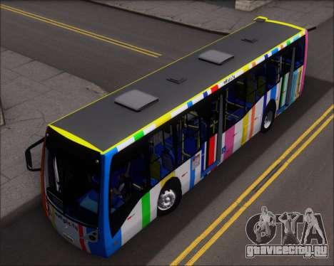 Caio Millennium II Volksbus 17-240 для GTA San Andreas вид сзади