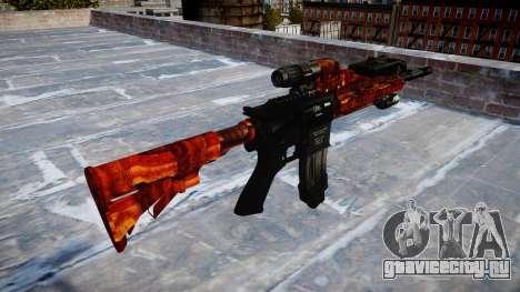 Автоматический карабин Colt M4A1 bacon для GTA 4 второй скриншот