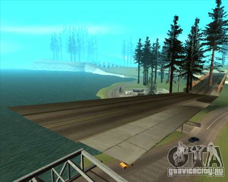 Sky Road Merdeka для GTA San Andreas седьмой скриншот