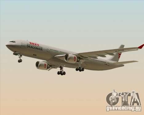 Airbus A330-300 Dragonair для GTA San Andreas двигатель