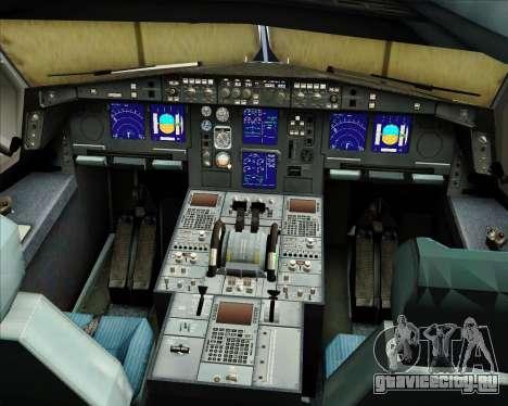 Airbus A330-300 Sabena для GTA San Andreas салон
