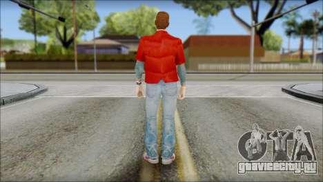 Marty with Vest 1985 для GTA San Andreas второй скриншот
