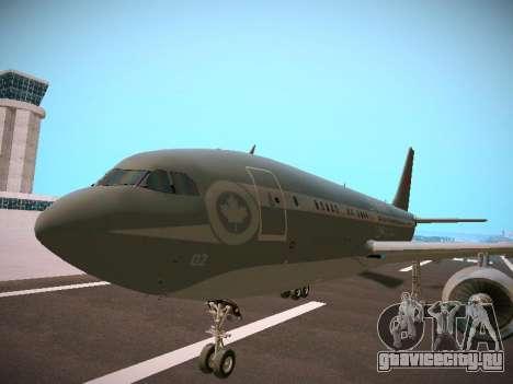 Canadian Forces Airbus CC150 Polaris для GTA San Andreas вид сзади слева