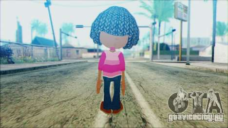 Libby Folfax from Jimmy Neutron для GTA San Andreas второй скриншот