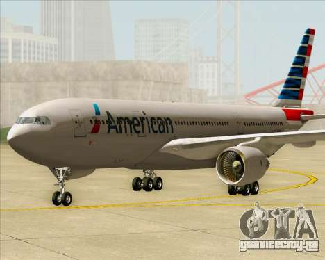 Airbus A330-200 American Airlines для GTA San Andreas вид сзади слева