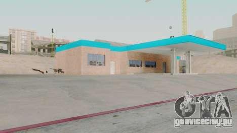 Новые текстуры гаража в Сан-Фиерро для GTA San Andreas второй скриншот