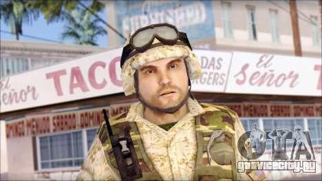 USA Soldier для GTA San Andreas третий скриншот