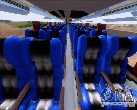 Busscar Vissta Buss LO Faleca для GTA San Andreas вид сзади