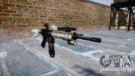 Автоматический карабин Colt M4A1 diamond для GTA 4