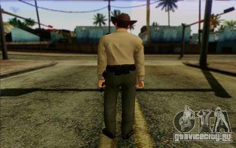 Полицейский (GTA 5) Skin 1 для GTA San Andreas второй скриншот