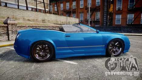 GTA V Enus Cognoscenti Cabrio для GTA 4 вид слева