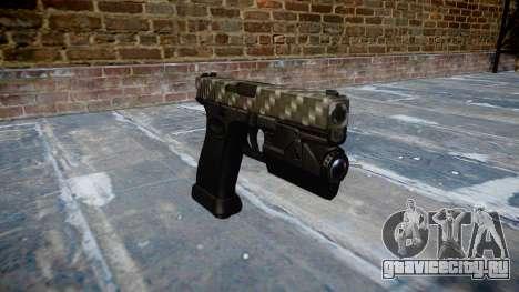 Пистолет Glock 20 carbon fiber для GTA 4