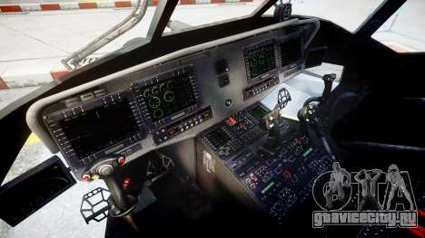Sikorsky MH-X Silent Hawk [EPM] v2.0 для GTA 4 вид сзади