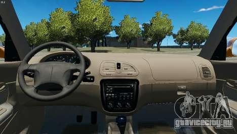 Daewoo Nubira I Wagon CDX US 1999 для GTA 4 вид сзади