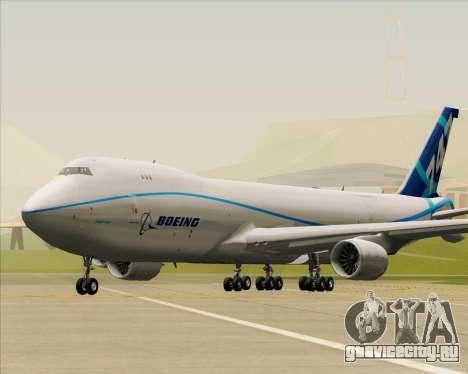 Boeing 747-8 Cargo House Livery для GTA San Andreas вид слева