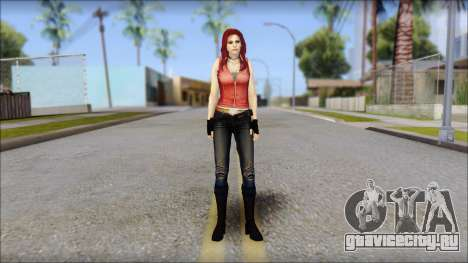 Claire Aflterlife Skin для GTA San Andreas