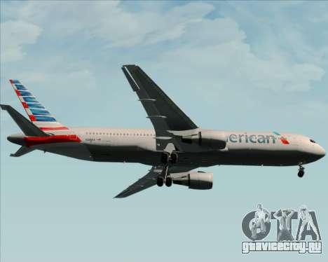 Boeing 767-323ER American Airlines для GTA San Andreas вид сбоку