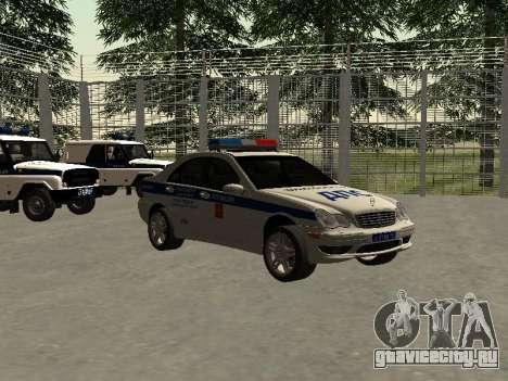 Мерседес Дпс для GTA San Andreas вид справа