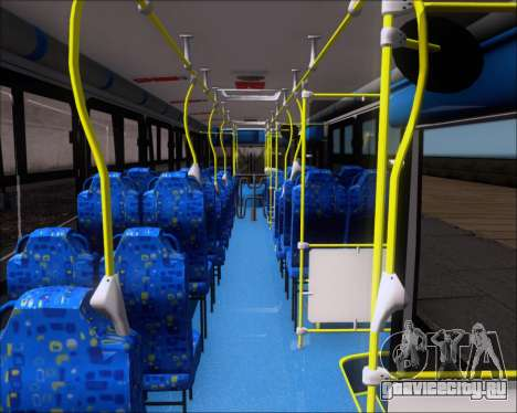 Caio Induscar Apache S21 Volksbus 17-210 Manaus для GTA San Andreas вид изнутри