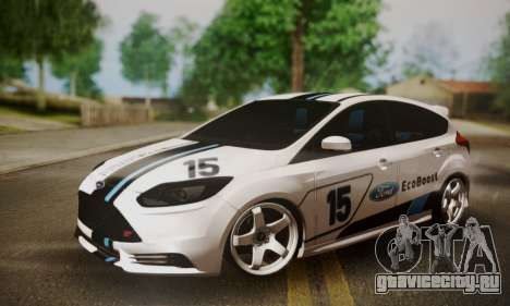 Ford Focus ST Eco Boost для GTA San Andreas