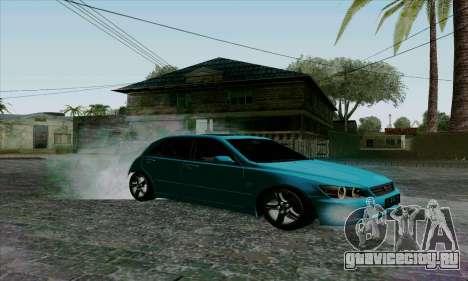 Toyota Altezza для GTA San Andreas вид сзади слева