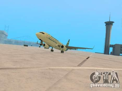 Boeing 737-84R Ukraine International Airlines для GTA San Andreas