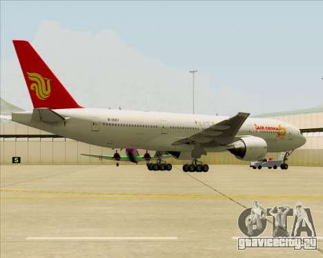 Boeing 777-200ER Air China для GTA San Andreas салон