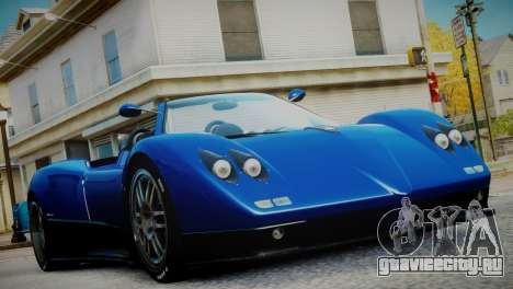 Pagani Zonda S (C12S) Roadster 2011 для GTA 4